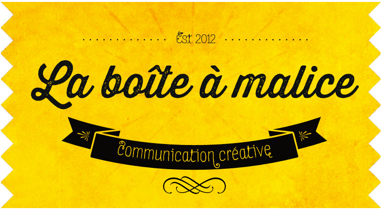La boite à malice, communication créative par Marion Eckhardt, comm' internet et papier